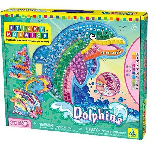 Sticky Mosaics Dolphins