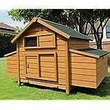 h hnerstall mobil 220x125x118 cm h hnerhaus h hner haus stall haustier. Black Bedroom Furniture Sets. Home Design Ideas