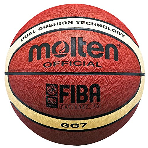 Molten FIBA Approved BGG7Herren & BGG6Damen Basketball Official Sports Qualität, Size 6-Ladies
