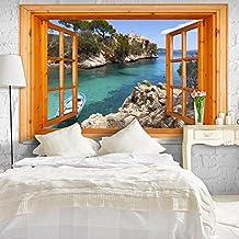 suchergebnis auf f r tapete fototapete fenster. Black Bedroom Furniture Sets. Home Design Ideas