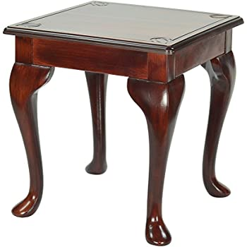 High Street Design Antique Redwood Small OccasionalCoffee Side - Redwood side table