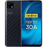 """Realme Narzo 30A Smartphone Libre Mega Batería 6000mAh Carga Rápida 6.5"""" Pantalla HD+ 4GB + 64GB (SD 256GB) Cámara AI 13MP Te"""