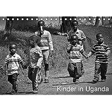 Kinder in Afrika (Tischkalender 2017 DIN A5 quer): Fröhliche Kinder in Uganda (Monatskalender, 14 Seiten ) (CALVENDO Menschen)