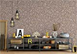 beneart® Fototapete Steinwand 4 - 350 x 250 cm - Wandbild bunt XXL - Home Deko - Tapete Steinwand 3D - Wand Deko Stone - viele verschiedene Motive