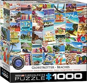 "Eurographics 8000-0761""Beaches Globetrotter - Puzzle (1000 Piezas)"