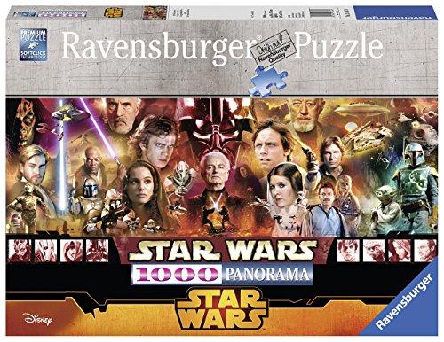 Ravensburger 15067 - Star Wars Puzzle, 1000 Pezzi, Panorama