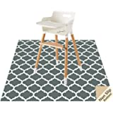 Baby Splat Floor Mat for Under High Chair/Arts/Crafts by CLCROBD, 51' Waterproof Anti-Slip Food Splash Spill Mat for…
