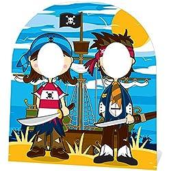 Photocall para fiesta temática de piratas.