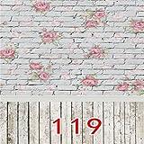 Generic 1.5m * Fleur 1m Studio Mur Photographie Prop Fond Photo Toile De Fond
