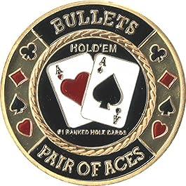 Poker Card Guards | Bullets Card Guard (Single)
