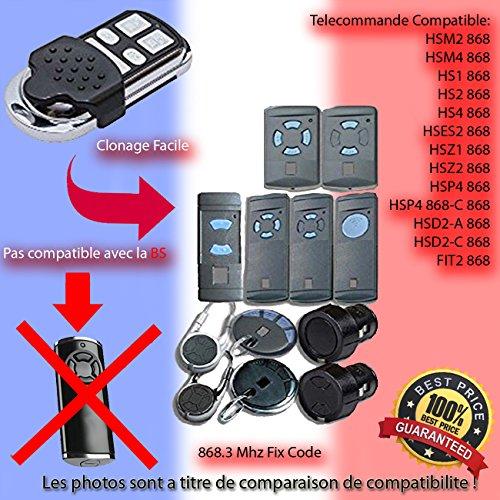 HSM2 868 / HSM4 868 Le Remplacement de la télécommande, Clone