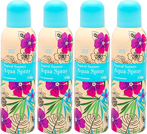 CIEN Aqua Spray/Wasser Spray - Pure refreshment (4 Spraydosen à 150 ml) - Gesicht-lufterfrischer