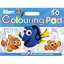 Disney Pixar Finding Dory Colouring Floor Pad: Over 30 Cool Pages to Colour