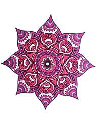 Colgantes de Pared Colcha Tiro Mandala Tapicería Indio Bohemio Decoración Púrpura