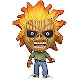Funko- Pop Rocks Iron Maiden (Skeleton Eddie) Collectible Toy, Multicolore, 45121