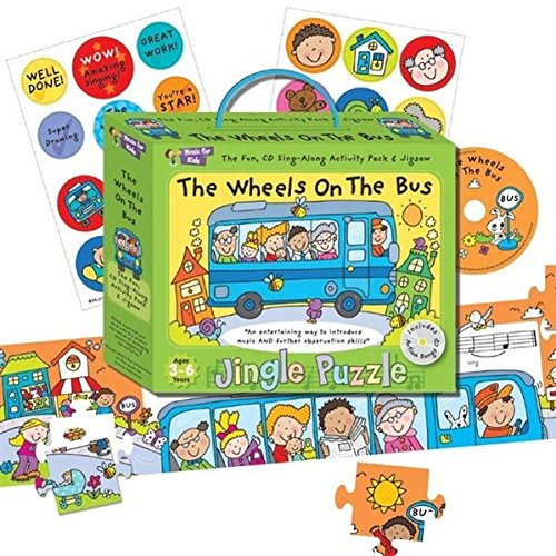 Music For Kids: Jingle Puzzle - The Wheels On The (Duke Die Grand Of Old York)