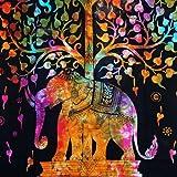 Indian Décoration murale à suspendre hippie mandala Tapisserie Bohemian Couvre-lit ethnique Décoration de Dortoir