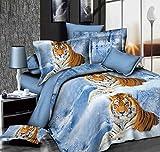 3D Winter Tiger weiß Schnee Betten Set Animal - Best Reviews Guide
