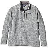 Patagonia Herren Jacke Better Sweater 1/4 Zip Fleece, Stonewash, M