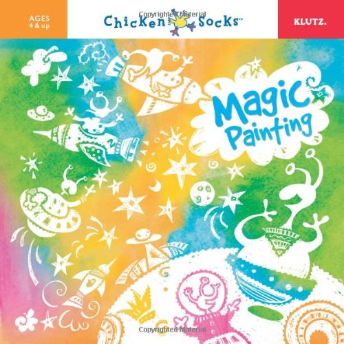 Magic Brush Inc (Magic Painting: Brush on Colors, Pictures Appear by Magic [With Paint Brush and 5 Colors of Paint] (Chicken Socks))