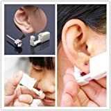 Onkessy Disposable Ear Piercing Gun, Studs Earrings No Pain Safety Unit Tool Set with Ear Stud Asepsis Pierce it for Girls Wo