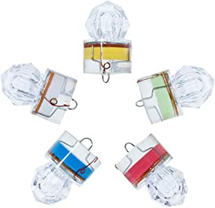 Dr Fish K/öder Angeln Kit LED-Beleuchteten K/öder Flasher Salzwasser S/ü/ßwasser Bass Heilbutt Glasaugenbarsch lockt Lockstoff Offshore Deep Sea Wallende