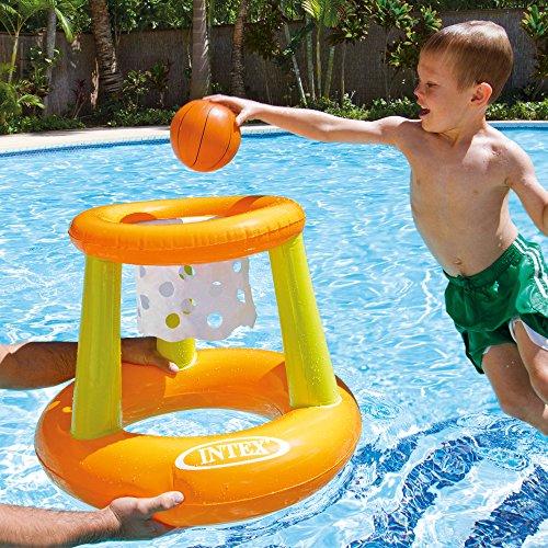 Intex Wasserspiel Floating Hoops, Mehrfarbig, Ø 67 x 55 cm - 2