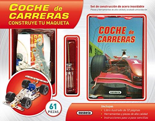 Coche de carreras (Construye tu maqueta) por Susaeta Ediciones S A