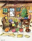 Janosch-Adventskalender Weihnachtszimmer