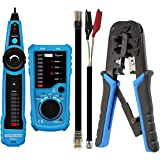Techtest Lan Tester Multi-Functional Wire Tracker Fwt11 Network Cable Tester Rj45 Crimping Tool