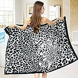 Hot Sale Sexy Leopard bedruckt 70× 150cm weiches Mikrofaser Strandtuch