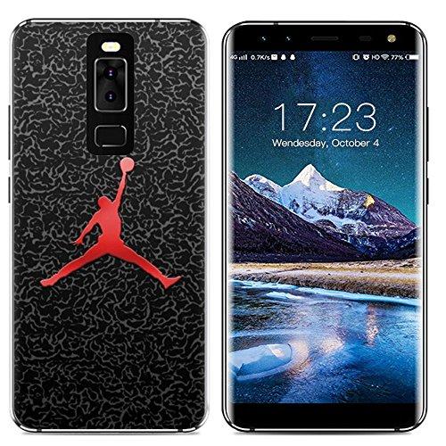 Easbuy Handy Hülle Soft Silikon Case Etui Tasche für Leagoo S8 Smartphone Cover Handytasche Handyhülle Schutzhülle