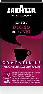 Lavazza Espresso Deciso, Confezioni da 10 Capsule
