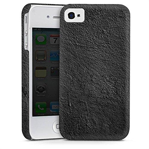 Apple iPhone 5 Housse Étui Silicone Coque Protection Béton Mur Structure Cas Premium mat