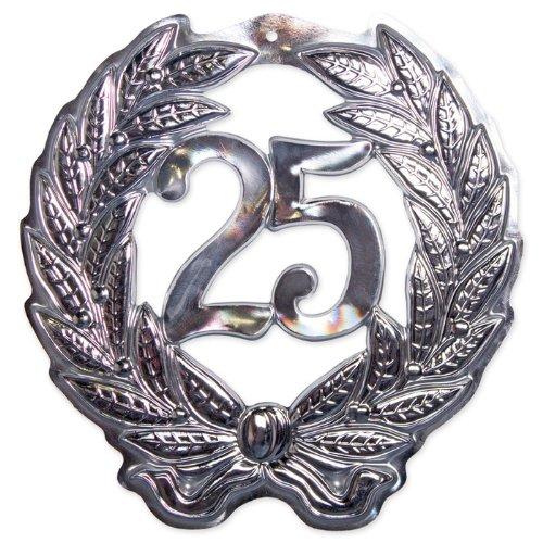 Folat Wanddeko 25. Jubiläum 45 cm