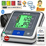 #9: Dr Trust A-One Max Connect Automatic Talking Blood Pressure Testing Monitor (Gray)