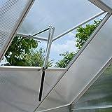 Decdeal Automatischer Fensteröffner Temperaturgesteuert mit 7kg Hubkraft, 45cm Hubhöhe, Einzige Schubkraft