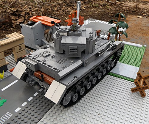 Modbrix 8210 – ✠ Bausteine Panzer IV Ausf. F, 1000 Teile, inkl. custom Wehrmacht Soldaten aus original Lego© Teilen ✠ - 2