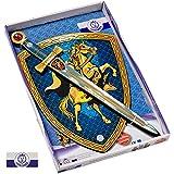 Liontouch 29400LT Ritter Kostüm Spielzeug Set aus Schaumstoff | Schwert und Schild