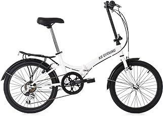 KS Cycling Faltrad Foldtech 6 Gänge Fahrrad