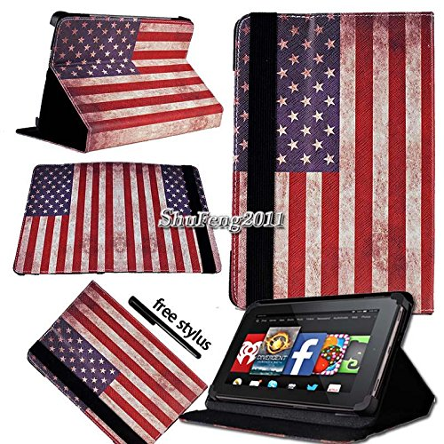 Fall + Stylus Pu Leder Case Ständer Folio Passt Apple iPad Samsung Dell Motorola Oberfläche HTC LG Kurio Android Tablet PC 20,3 cm -8.9