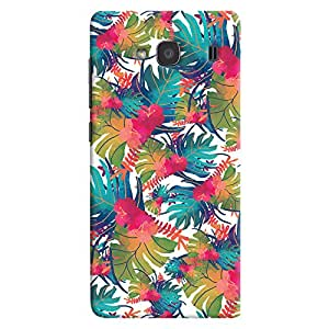 ColourCrust Xiaomi Redmi 2 Prime Mobile Phone Back Cover With Colourful Abstract Art - Durable Matte Finish Hard Plastic Slim Case