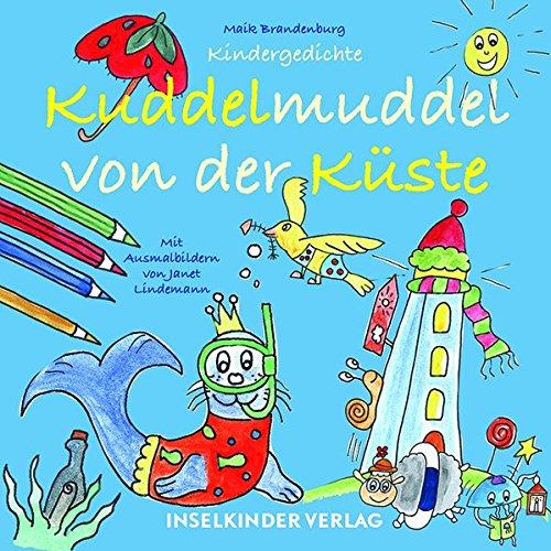 Buchseite und Rezensionen zu 'Kuddelmuddel von der Küste: Gedichte für Lütte' von Maik Brandenburg