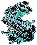Fisch Koi Aufnäher Bügelbild