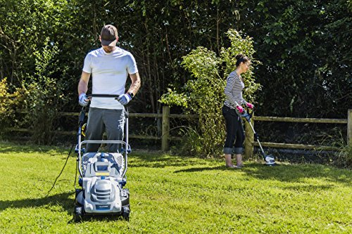 BLAUPUNKT Garden Tools GX7000 High Power Electric Push Lawnmower with 1800W AC Motor and 42cm Cutting Diameter