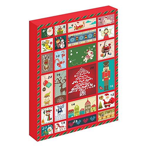 MARENJA Cadeau Noël pour Fille-Calendrier De l'Avent avec Bijoux et Bijoux de Cheveaux-Parure de Bijoux pour Fille