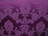 halben Meter Cadburys violett Madagaskar Designer Vorhang