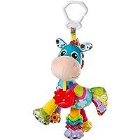 Playgro Cavallo in Peluche Clip Clop, Giocattolo per Passeggino, A partire dalla Nascita, Blu/Multicolore, 40182