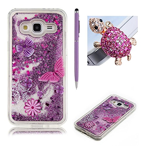 Galleria fotografica Samsung Galaxy A32016cellulare, skyxd Glitter liquido acqua design creativo morbido silicone gel gomma [non Hard Case] Brill ianter leggero liscio per cellulare