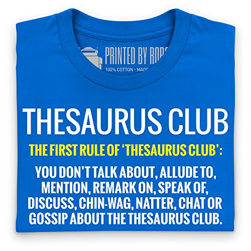 Thesaurus Club 2 T-Shirt, Herren Royalblau
